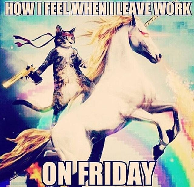 Pin By We Co On T G I F Yes Weekend Tgif Funny Friday Humor Work Humor