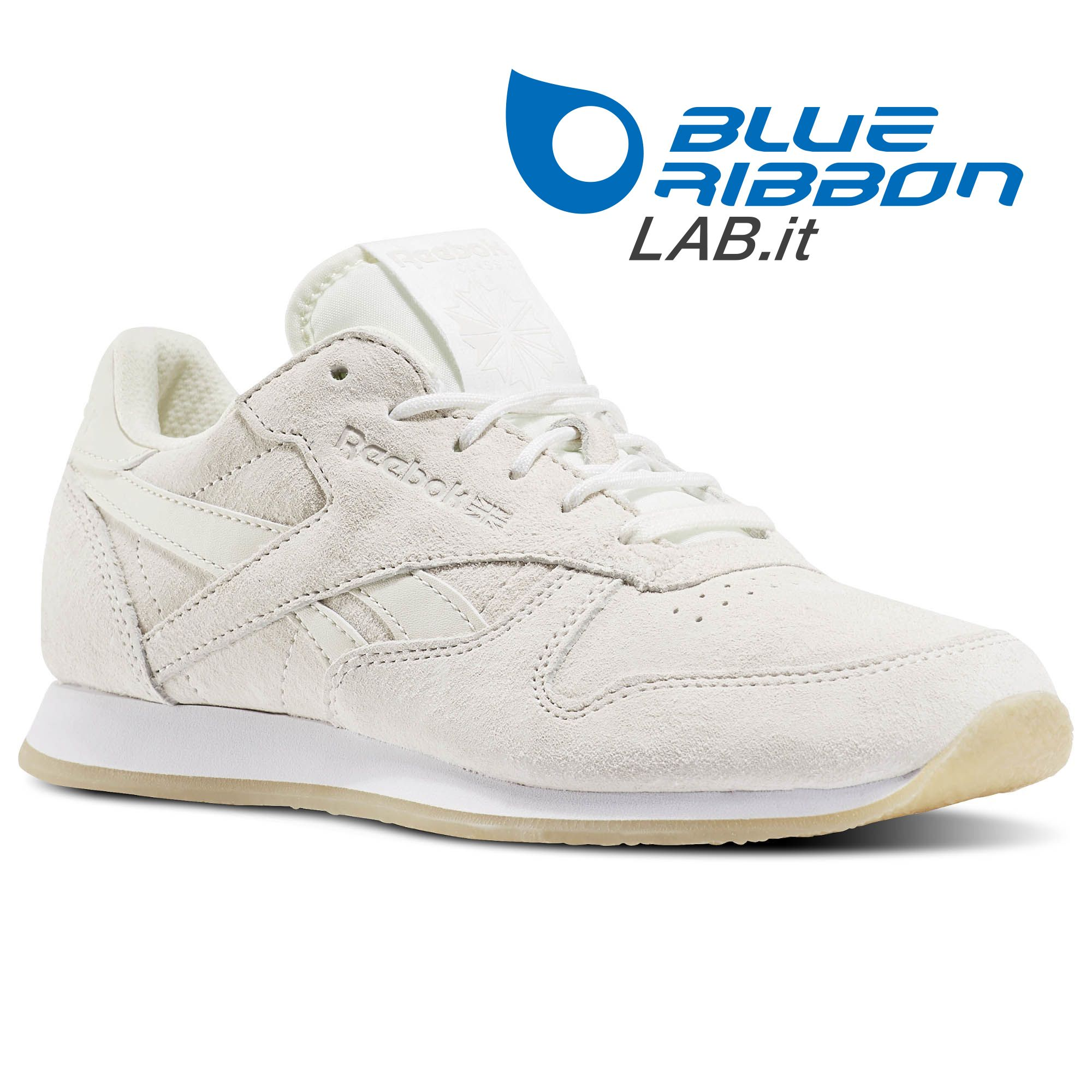 BlueRibbonLab: Reebok Sneakers LO - CLASSIC LEATHER CREPE SAIL AWAY - BD3017