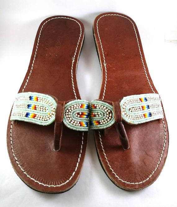 bc13406664a00 Maasai sandals, Leather sandals, Masai sandals | Chris | Leather ...