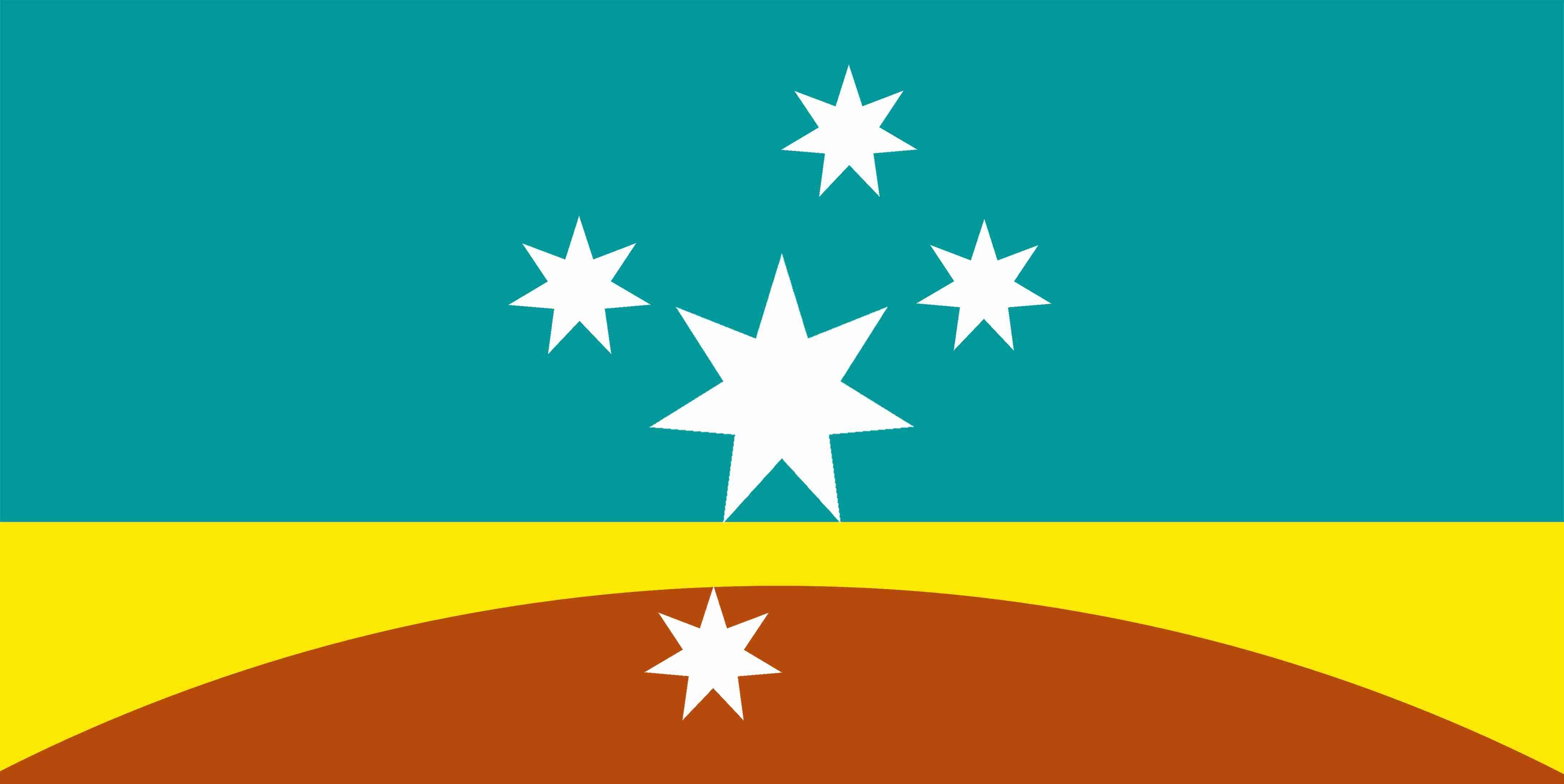 new Australian Flag design series - UluruSky17-GoldHorizon-SC-CS ...