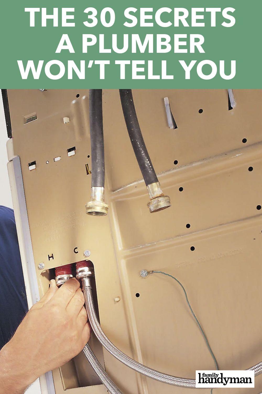 Photo of Die 30 Geheimnisse, die ein Klempner Ihnen nicht verrät