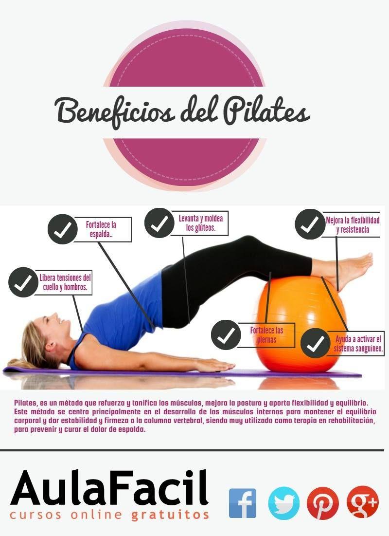 Infografía Algunos Beneficios Del Pilates Si Deseas Más Información Y Ejercicios Visita Nuestra Web Pilates Ejercicios Pilates Entrenamiento De Pilates