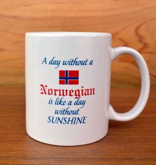 A Day Without A Norwegian Mug