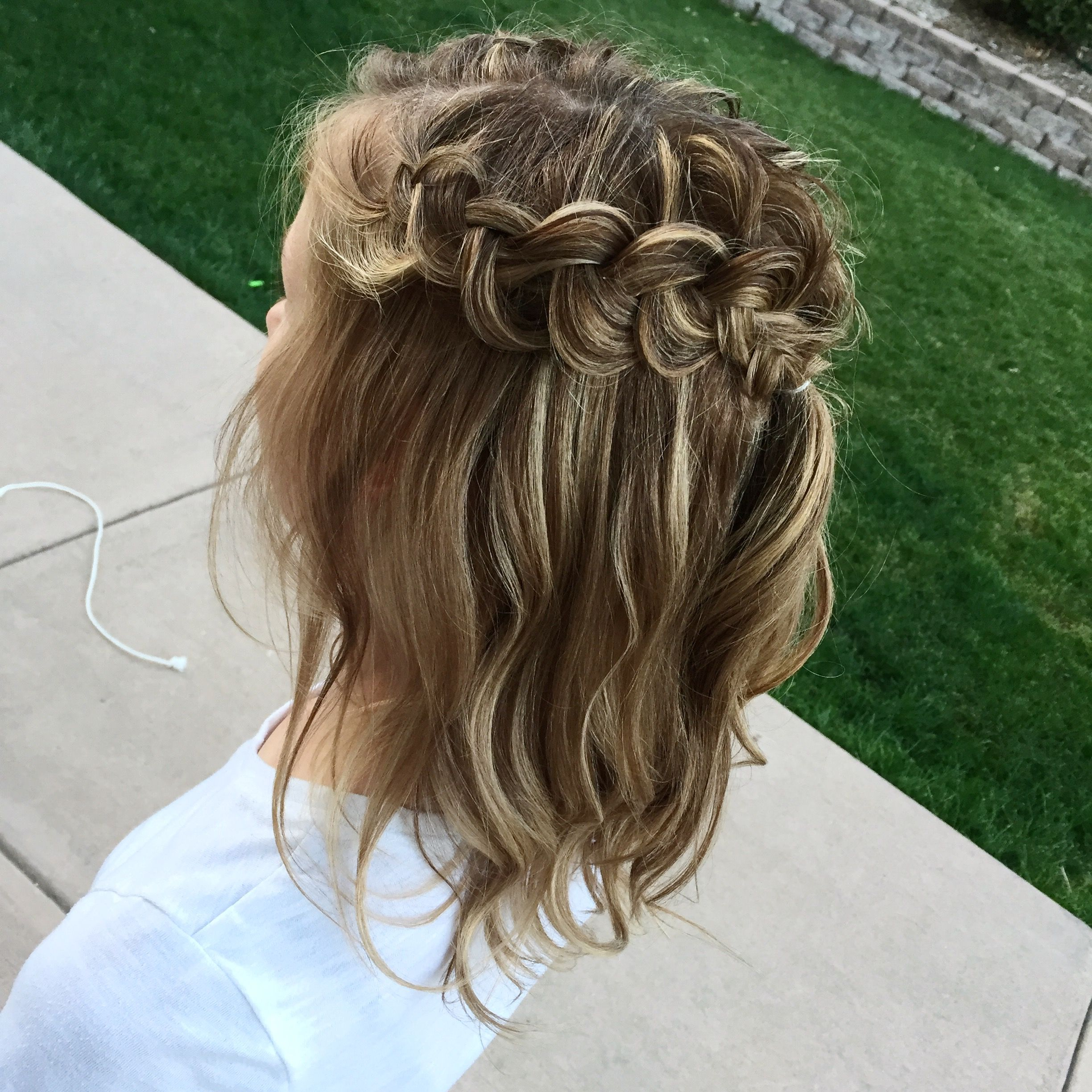 Half Up Style Dutch Braid Instagram Hailey Hagler With Images