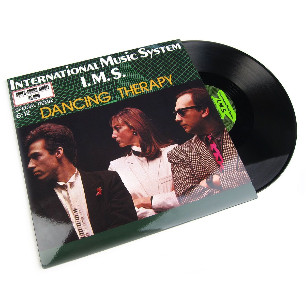 International Music System I.M.S.: Dancing Therapy Vinyl 12