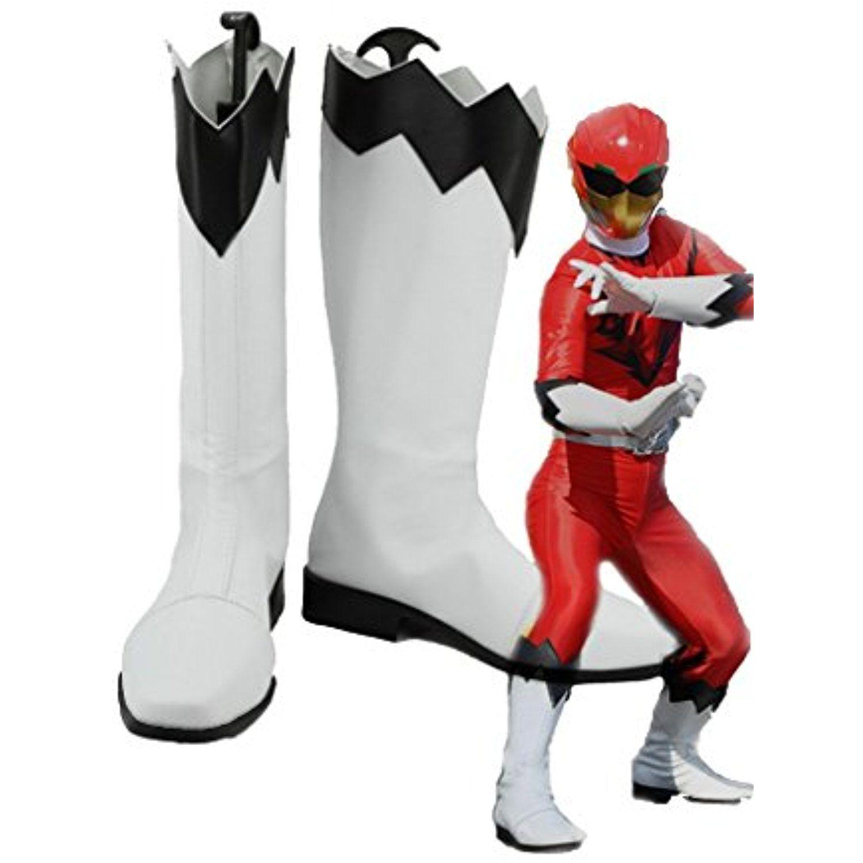 POWER RANGERS Doubutsu Sentai Zyuohger Yamato Kazakiri Cosplay Shoes Boots Custom Made