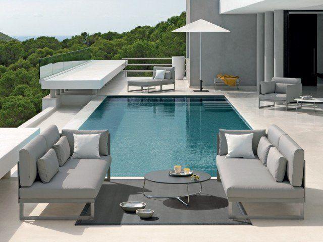 31 Salons De Jardin Lounge Pour La Zone Près De La Piscine Lounge