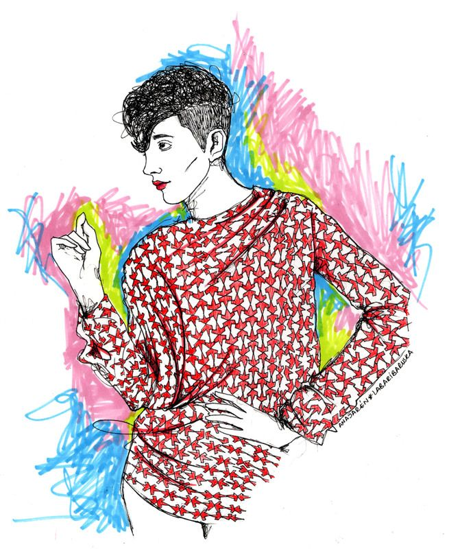 Mujer-Woman # Illustration # Ilustración
