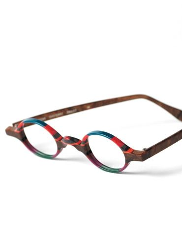 3c0f84a572 Silver Line Multi-Colored Handmade Frame in Pink and Brown