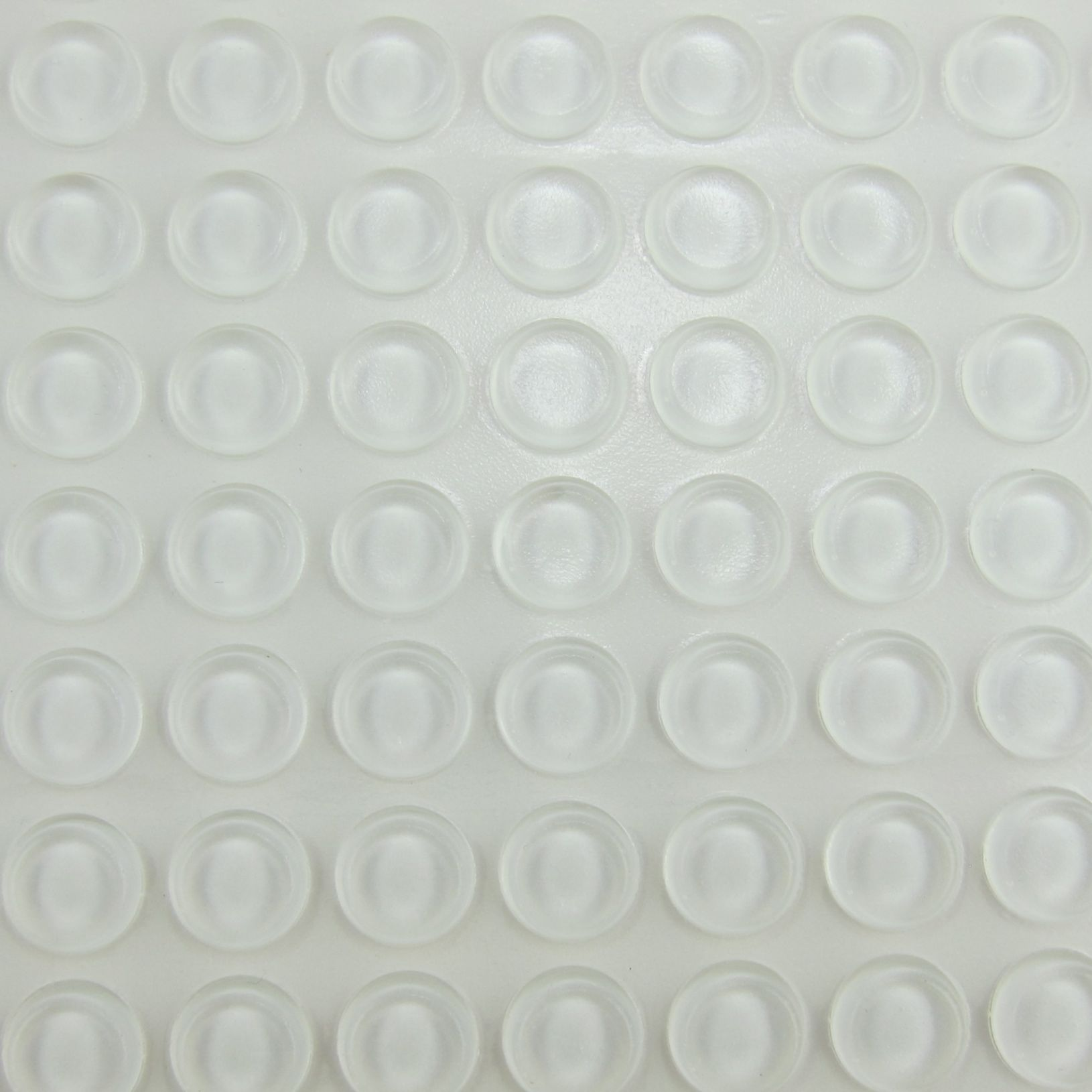 1 2 Clear Rubber Bumpers For Faceouts Sheet Of 64 Picture Frames Frame Storage Organization