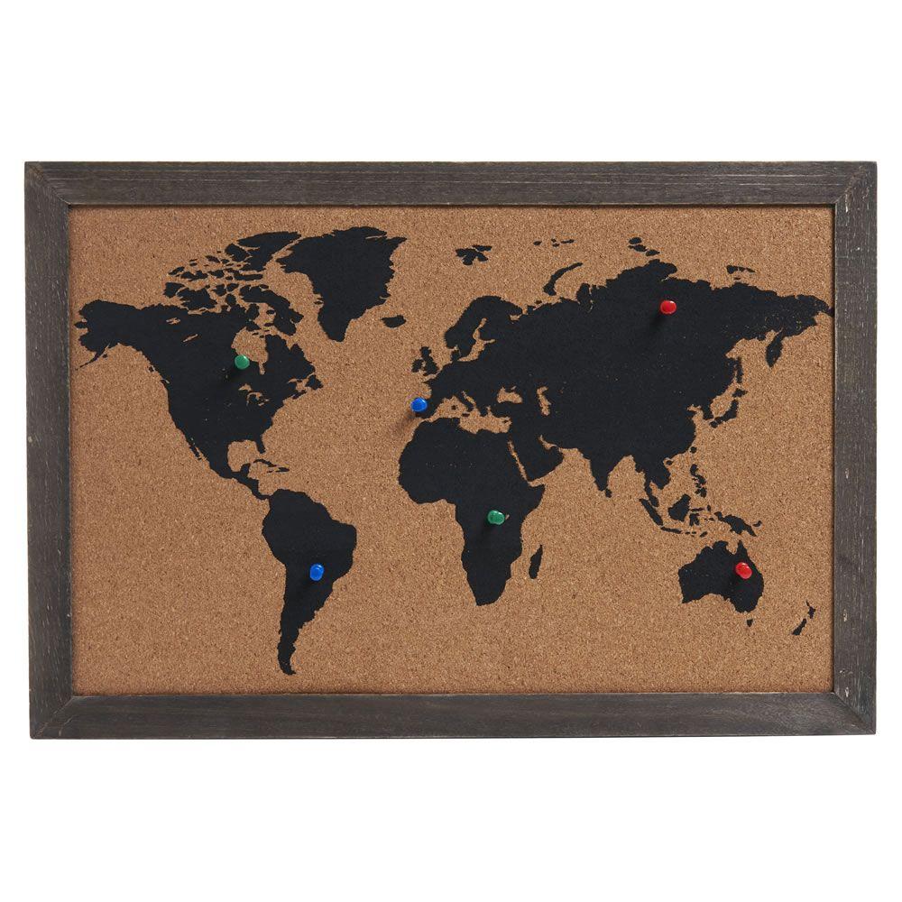 Wilko world cork board my home pinterest cork boards cork wilko world cork board gumiabroncs Choice Image