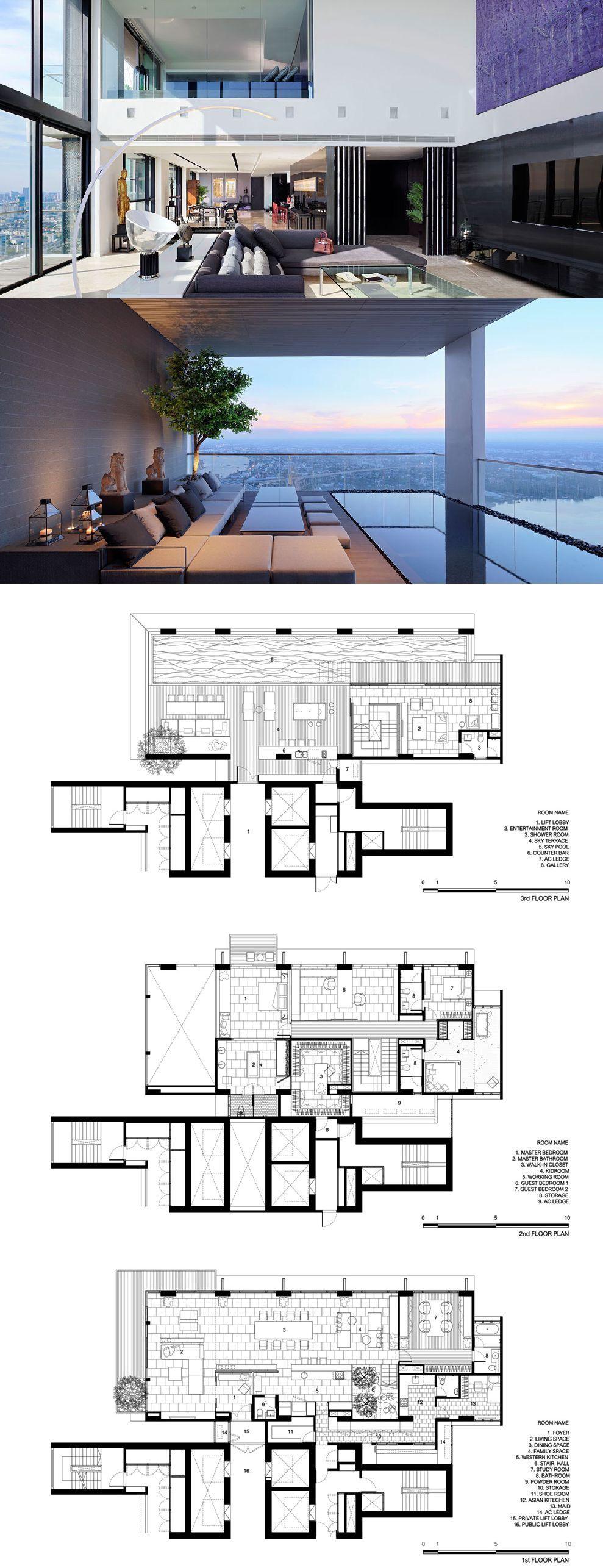Pano Penthouse Penthouse Apartment Floor Plan Architectural Floor Plans Apartment Floor Plans