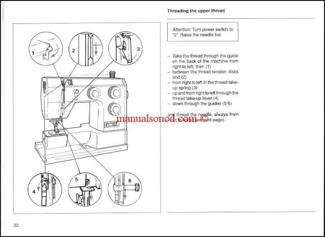 Bernina Bernette 715 730 740e Sewing Machine Instruction Manual