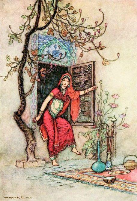 djevojka (bookspaperscissors: Folk Tales of Bengal,...)