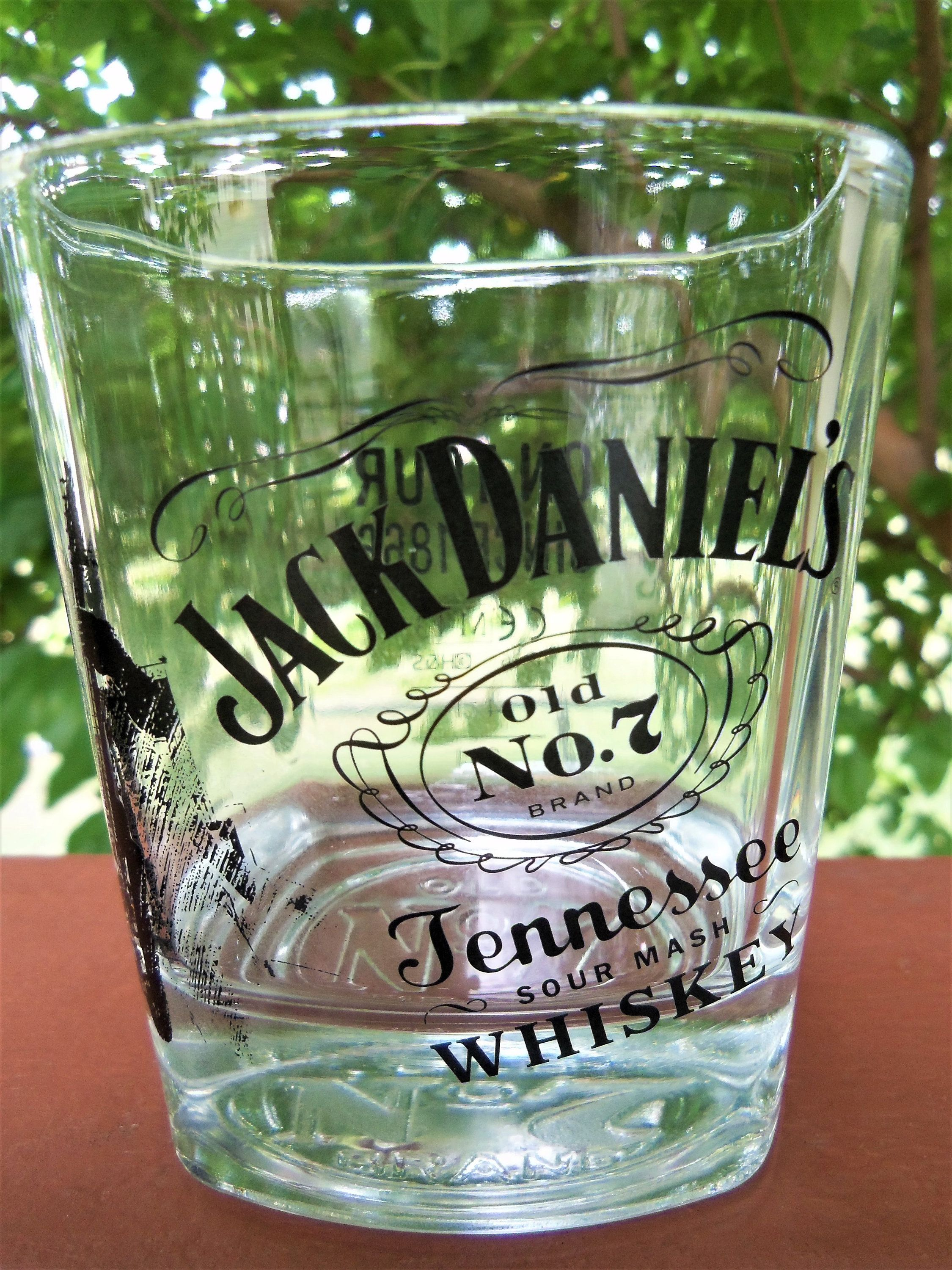 JACK DANIELS Whiskey Glass, Series on Tour Since 1866 Promotion, Limited Edition w/Guitar & Singer 1/4, Old No. 7 Brand