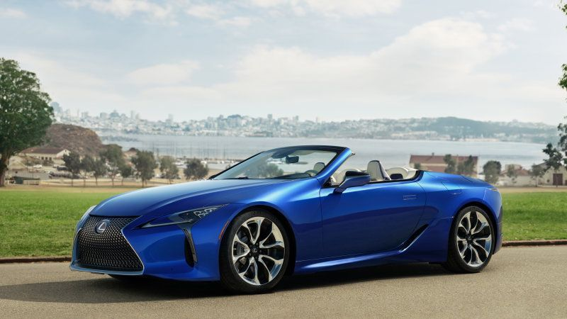 2021 Lexus Lc 500 Convertible Is Much More Than Just Coupe Minus Roof Lexus Lc Lexus Convertible