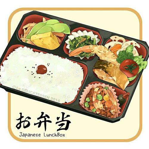 Картинка с тегом «delicious, rice, and anime food»