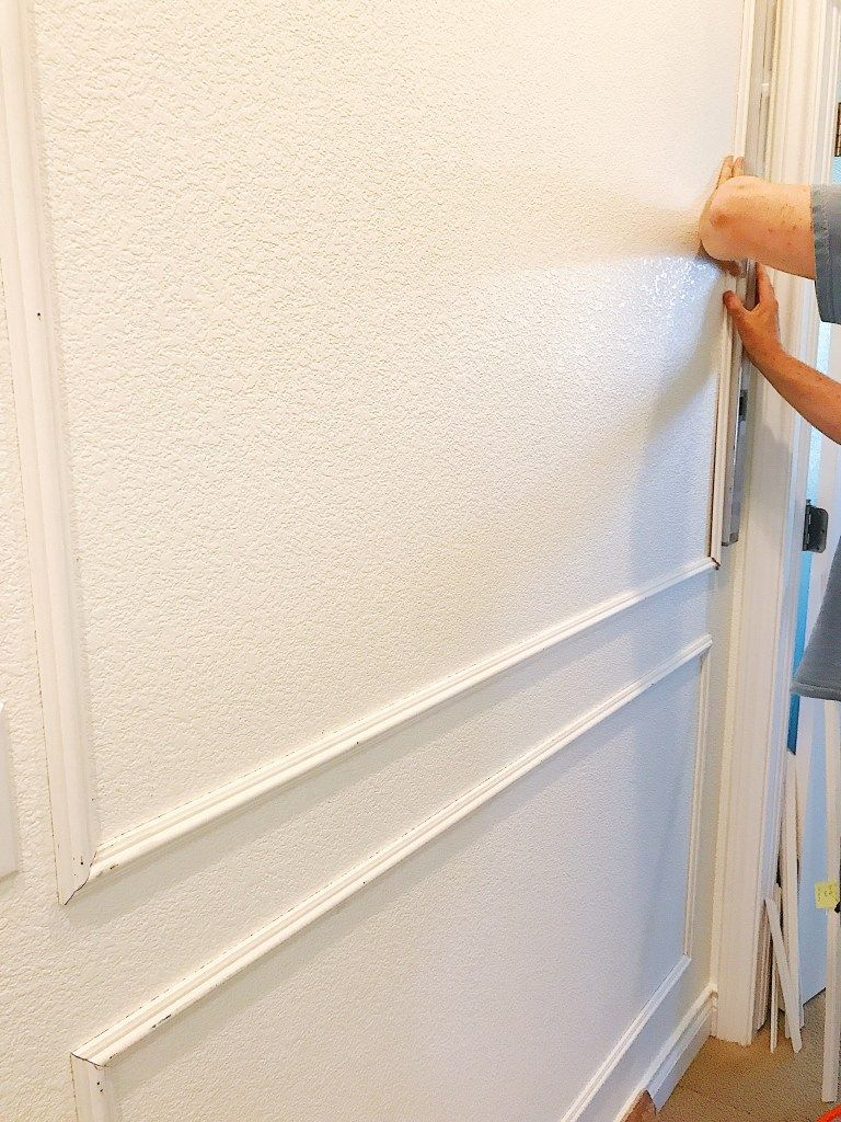 How to Install Picture Frame Molding (Panel Moulding) with