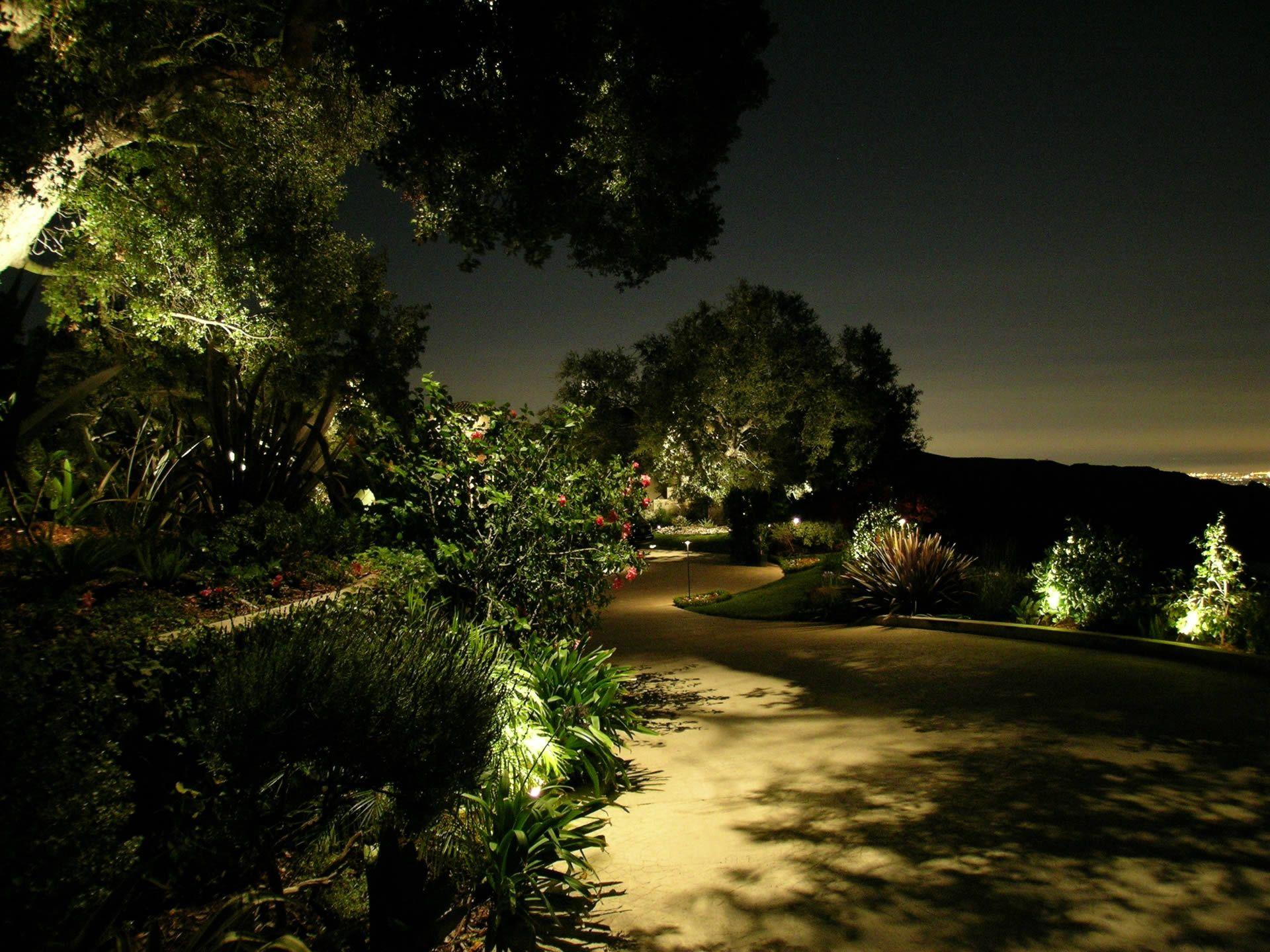 Beautiful Beverly Park, Bella Vista Landscape Lighting By Artistic Illumination