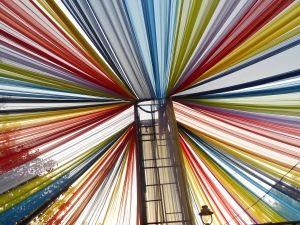 ribbons rainbow