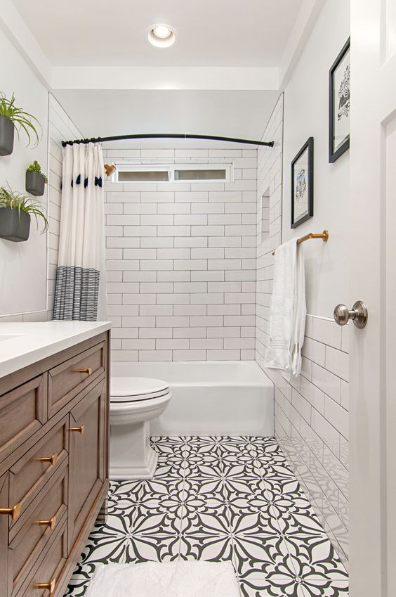 55 Amazing Small Bathroom Remodel Ideas - Modern