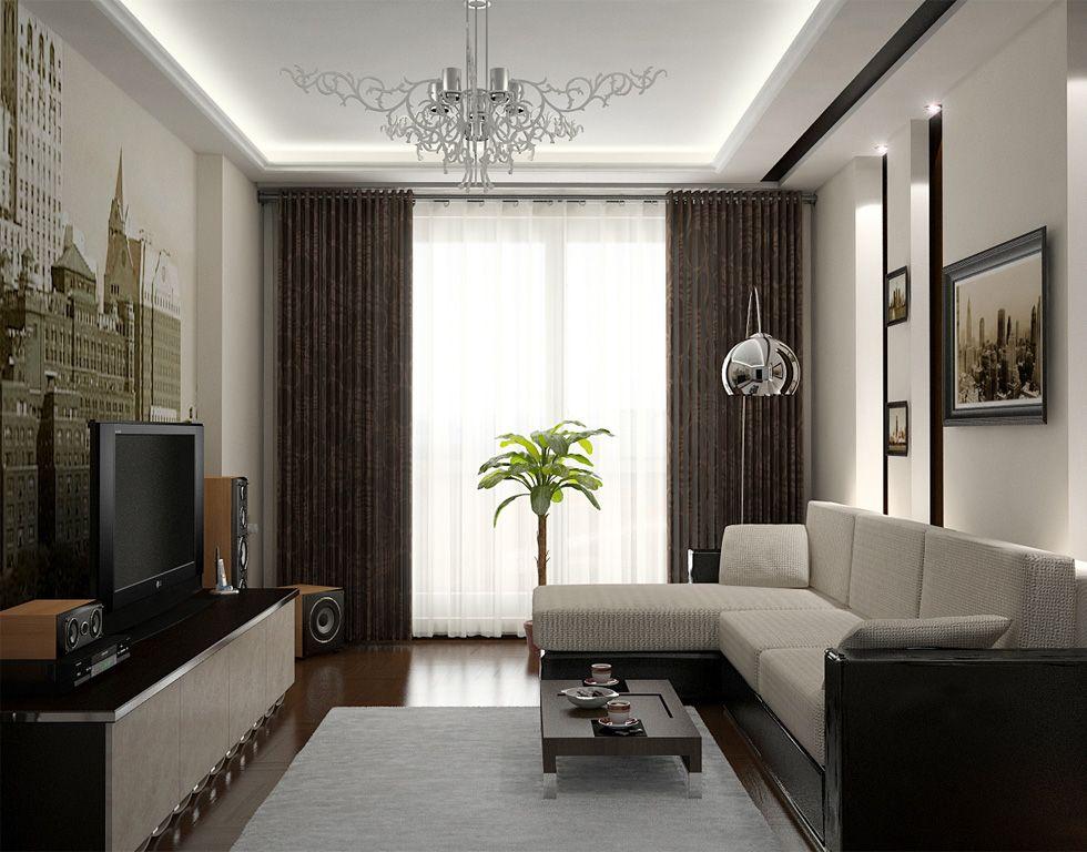 дизайн зала - Поиск в Google | Небольшие гостиные, Дизайн ...
