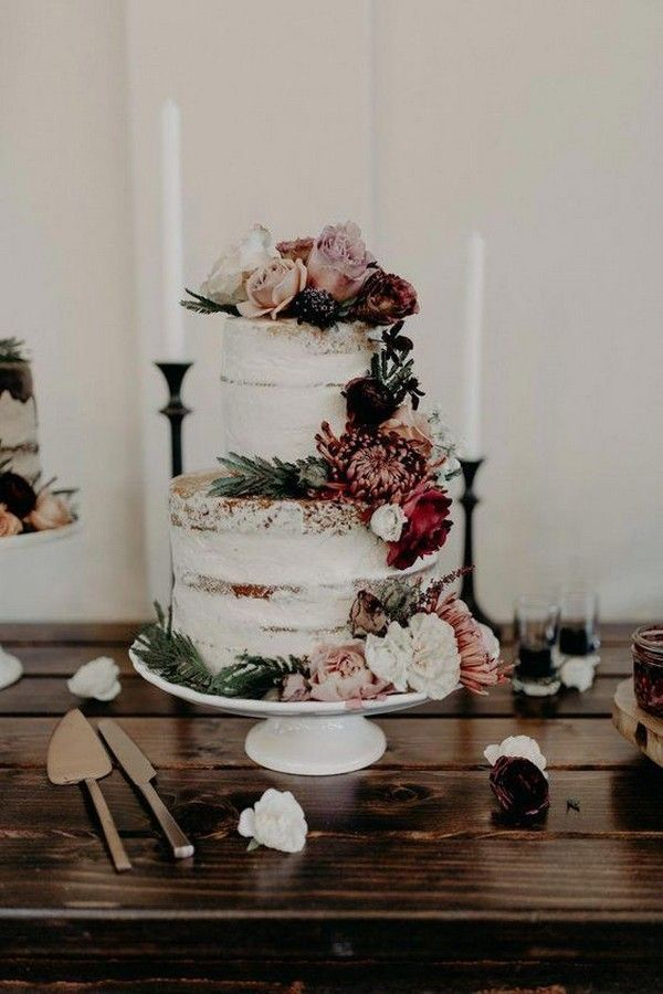 25 Trending Dusty Rose and Sage Wedding Color Ideas  Page 2 of 2  Oh Best Day Ever is part of Floral wedding cakes - Dusty Rose and Sage Wedding Centerpieces Belle The Magazine   Emma Loves Weddings Dusty Rose and Sage Wedding Cakes Belle The Magazine   Wedding Forward   Brides   Junebug Weddings