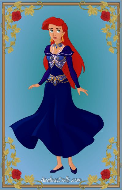Fairytale Series: The Little Mermaid - Human Form by LadyBladeWarAgnel.deviantart.com on @deviantART