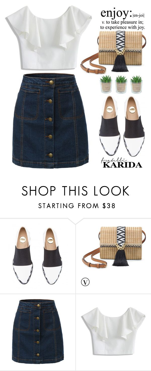 """Fratelli Karida #9"" by edita-m on Polyvore featuring RAS, Stella & Dot, LE3NO, Chicwish, Alöe and FratelliKarida"