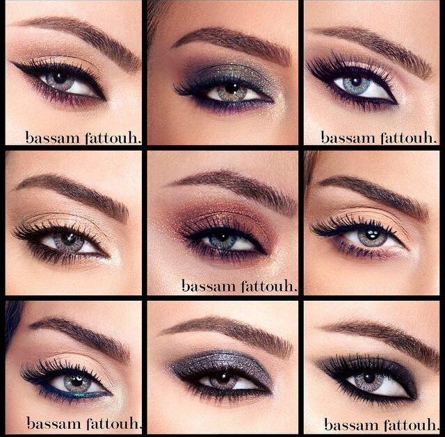 e5ef2eaf548 Same eye , different make up by Lebanese make up artist Bassam Fattouh