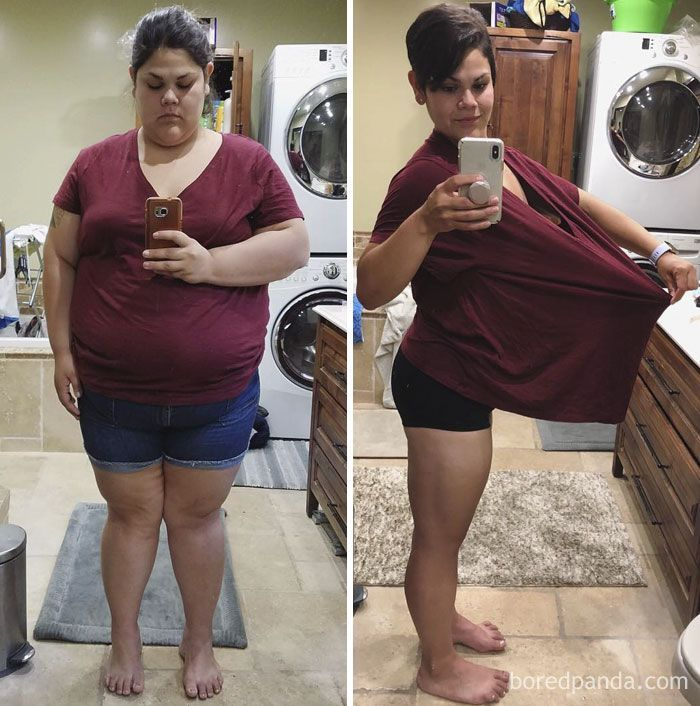256 Times People Surprised Everyone By Losing So Much Weight They Looked Like A Different Person (Ne...