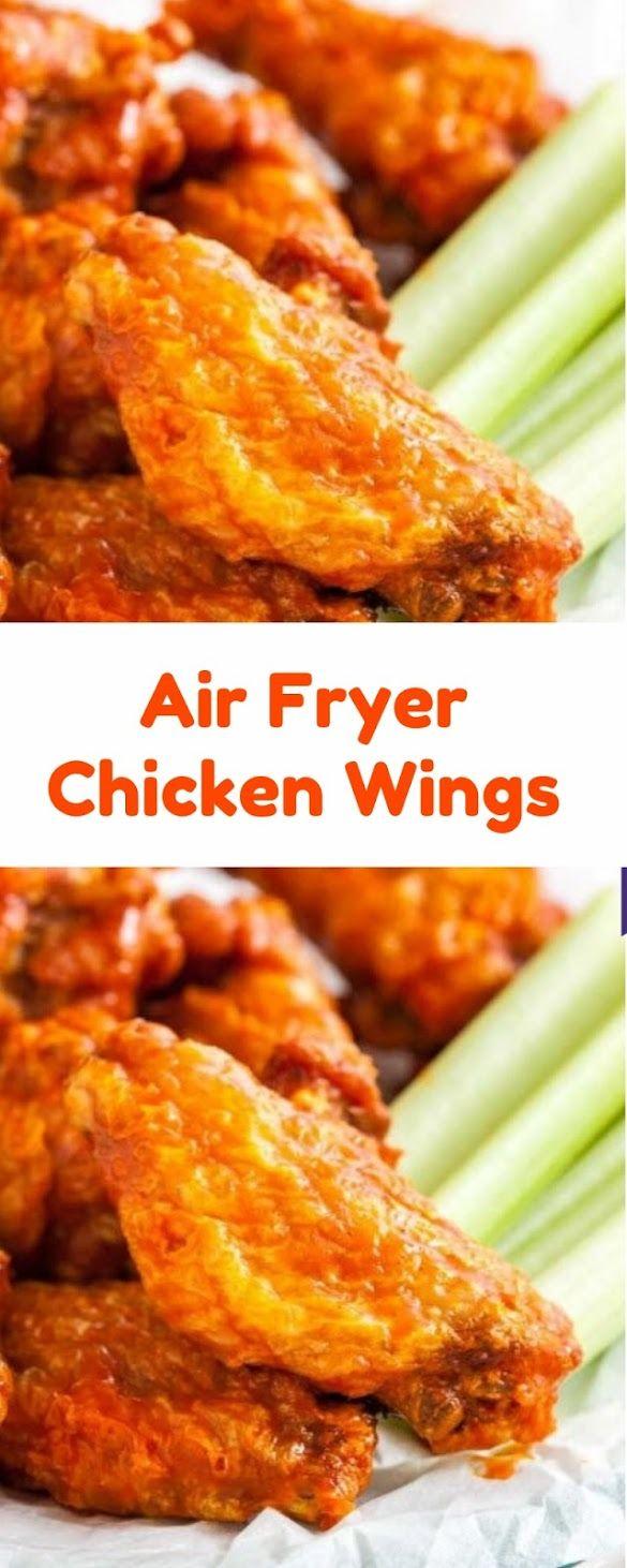 Air Fryer Chicken Wings Chicken wings, Air fryer chicken