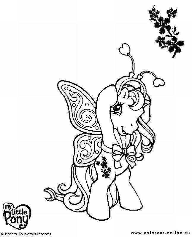 my little pony  ausmalbilder ausmalen bilder