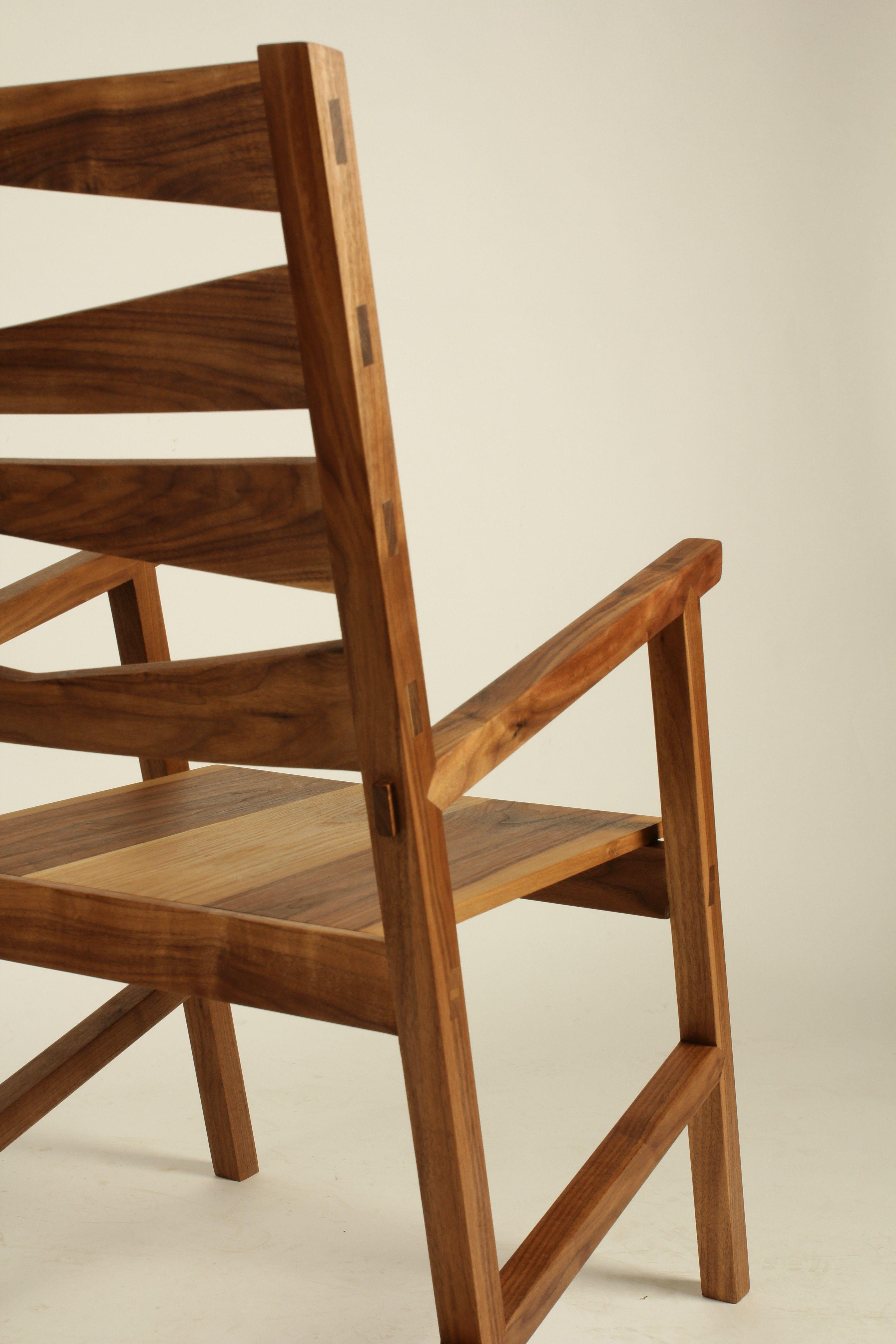 Walnut chair Walnut chair, Chair, Fine woodworking