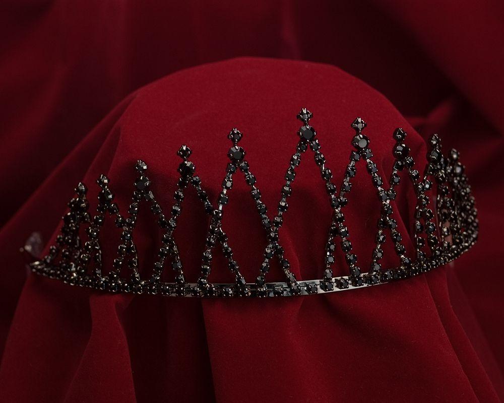 """2 1/2"""" Midnight Black Crown"""