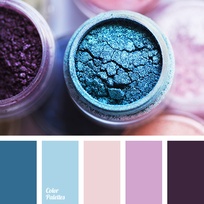 Great Collection Of Blue Color Palettes With Different Shades