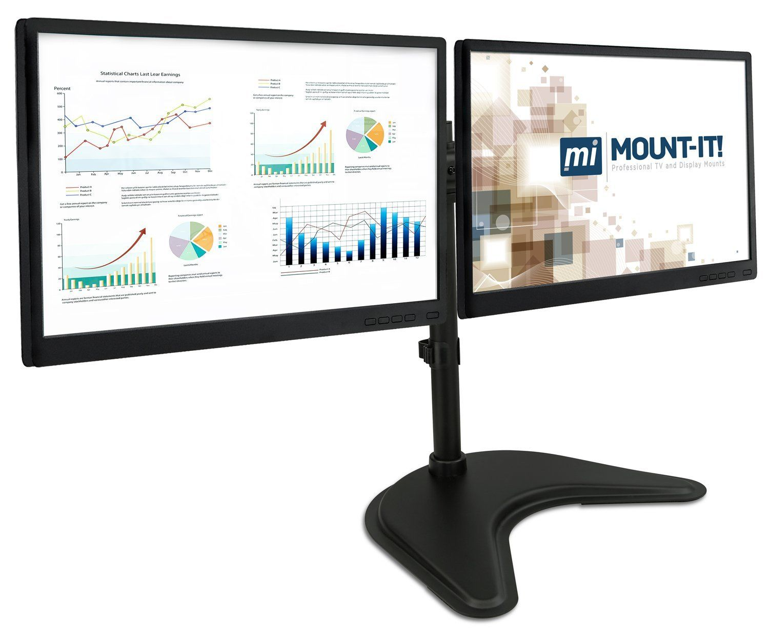 Robot Check Dual Monitor Desk Dual Monitor Stand Monitor Stand