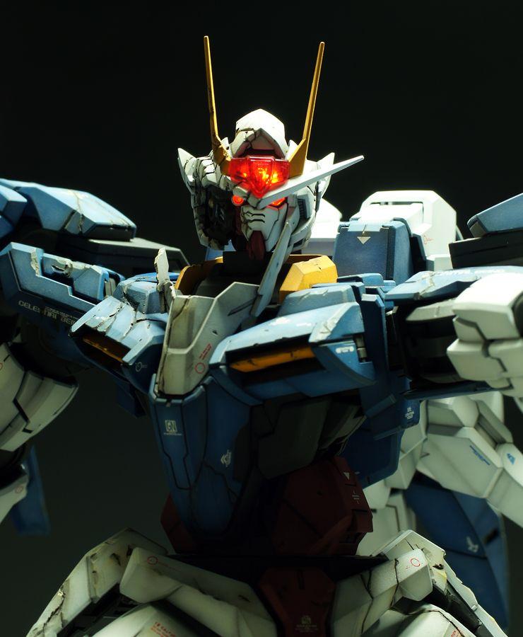 Gundam Iphone Wallpaper: GN-0000 00 Gundam Raiser Ver.Damage