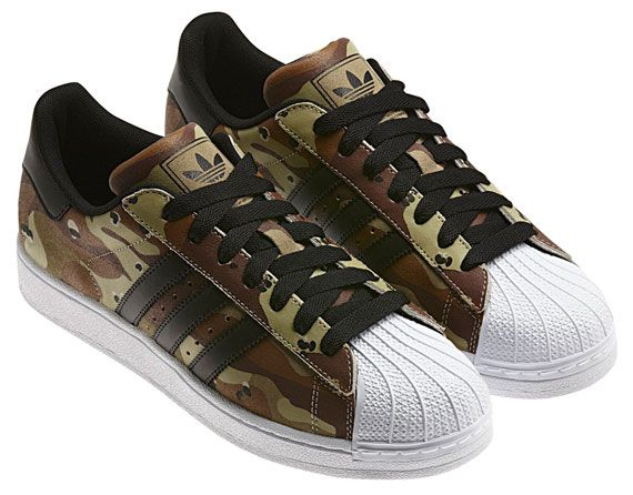 huge discount e9b33 2e8fa adidas Originals Superstar 2  Desert Camo    Desert camo, Camo and Deserts