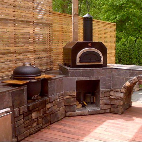 Chicago Brick Oven 500 Countertop Pizza Oven Outdoor Kitchen Countertops Outdoor Wood Outdoor Kitchen Design