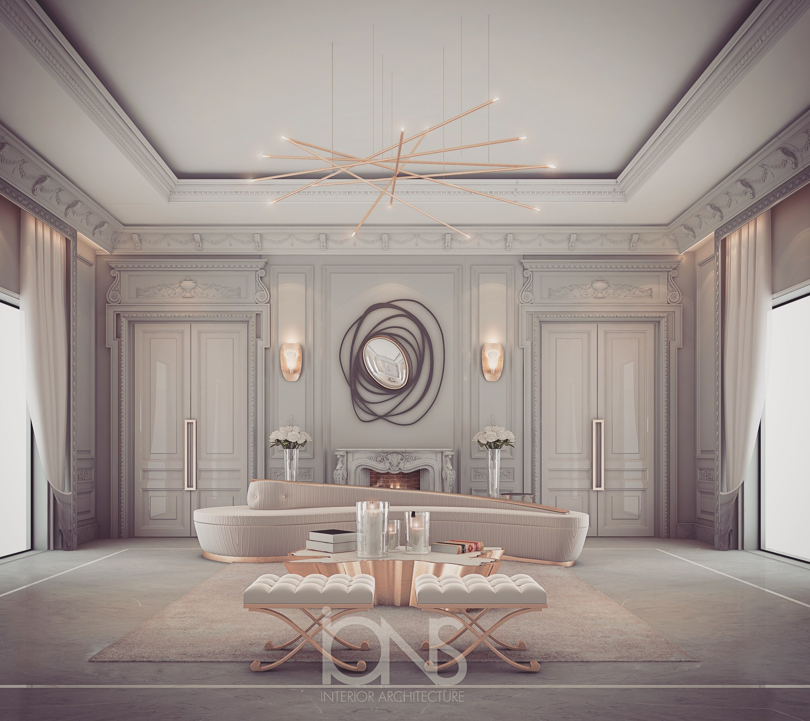 Lounge Design - Private Residence- By IONS DESIGN