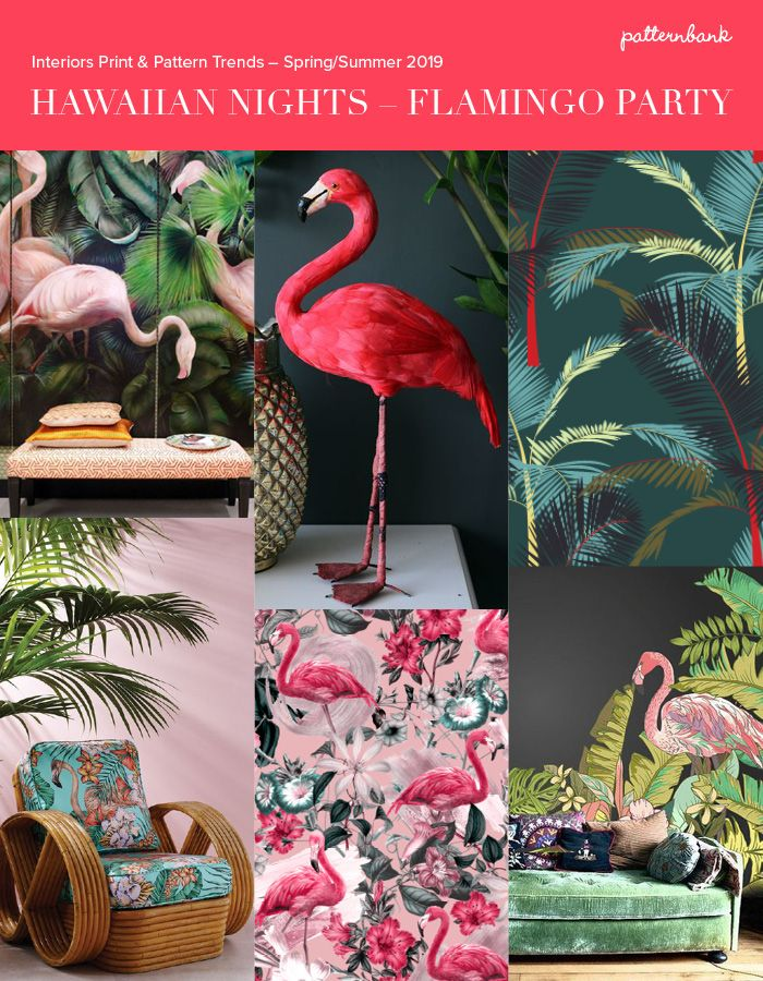 Hawaiian Nights - Interiors Print & Pattern Trend Story ...