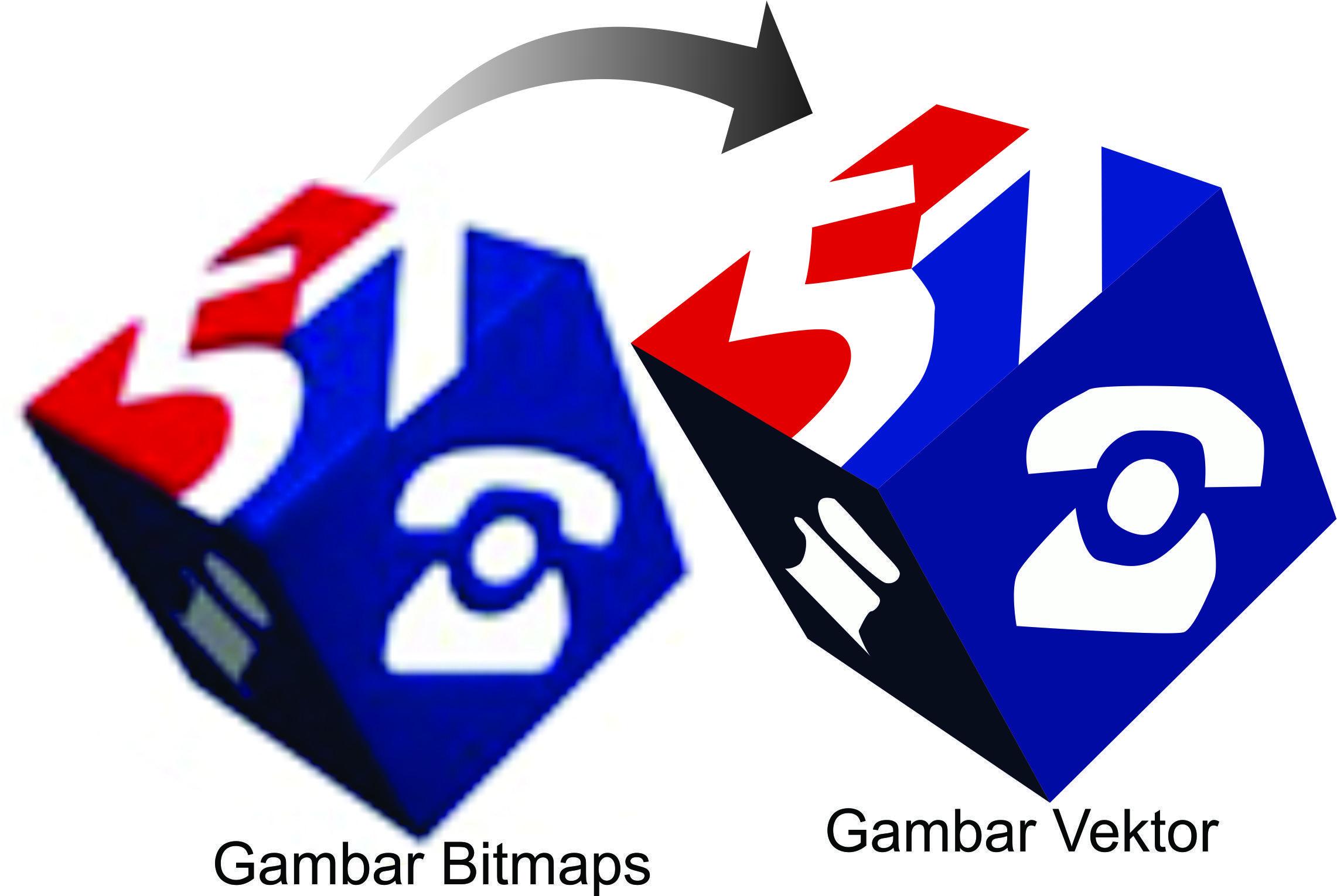 Gambar Vektor Atau Bitmap Gambar Desainer Grafis Grafis