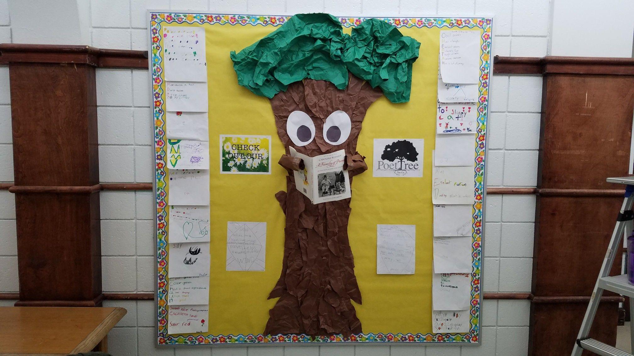 Poet Tree Bulletin Board