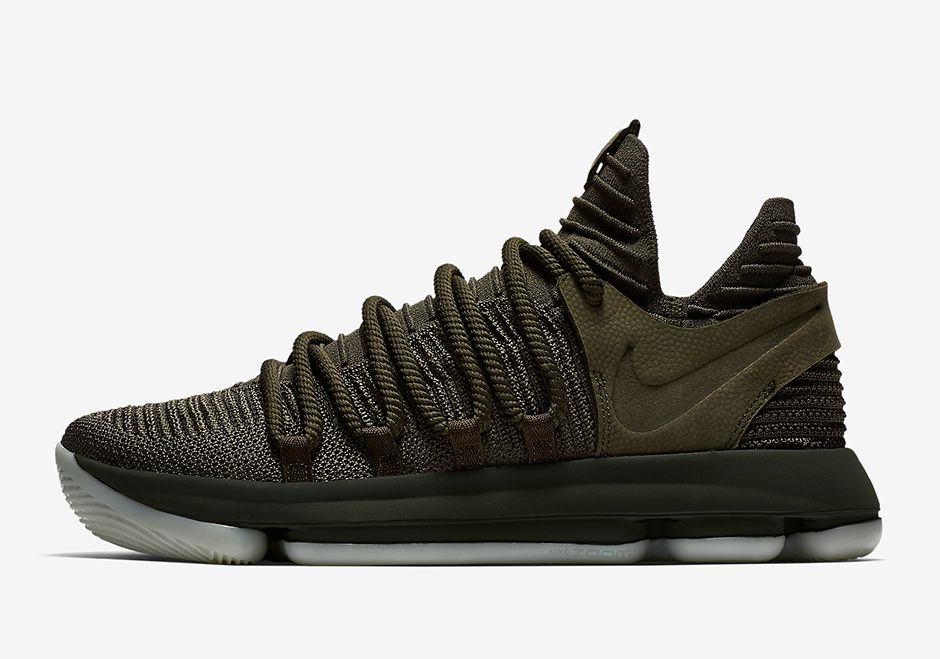 Nike KD 10 NL EP Olive Green 943298-900 | SneakerNews.com
