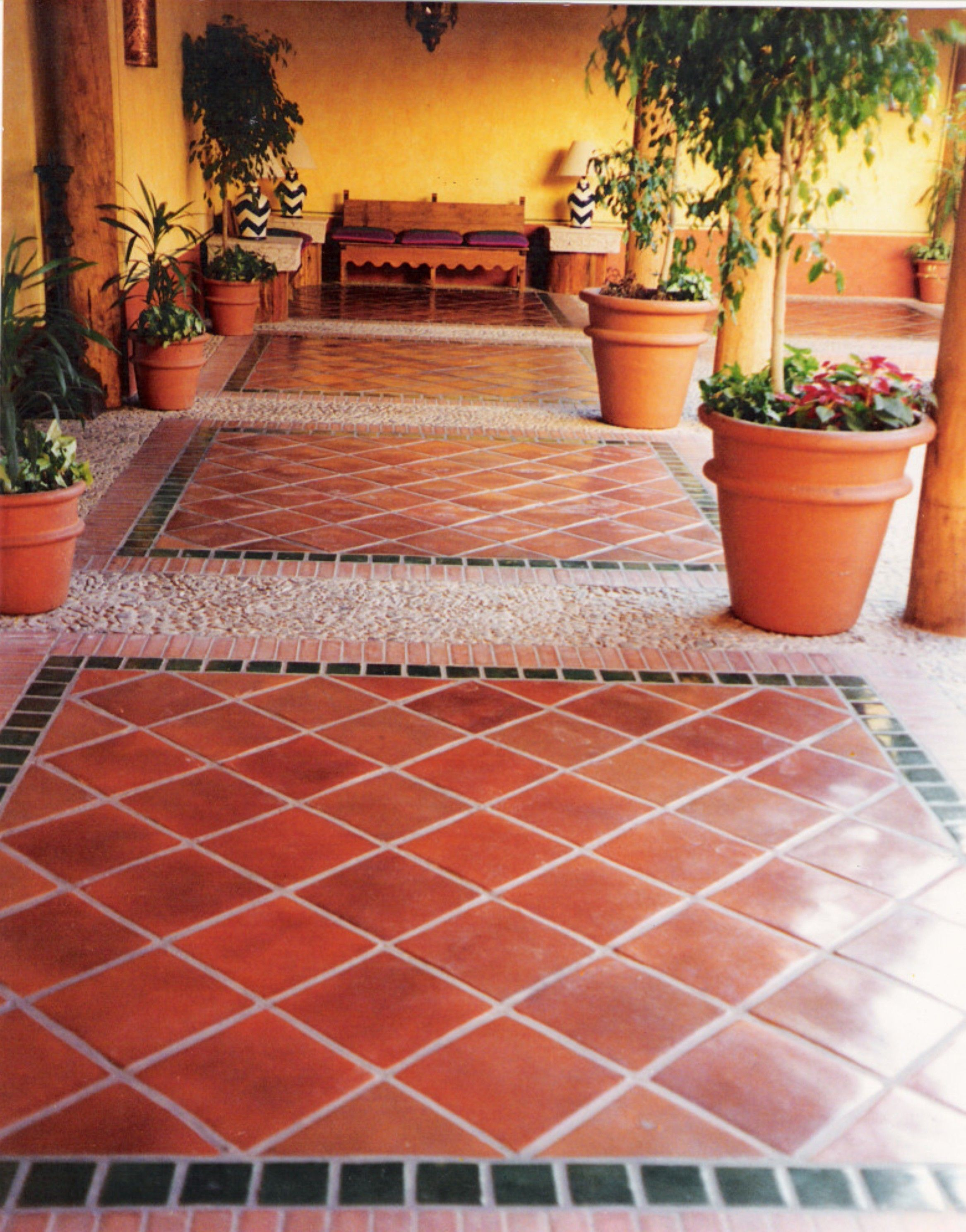 Ceramica san pedro instalaciones pisos y accesorios en for Pisos para patios rusticos