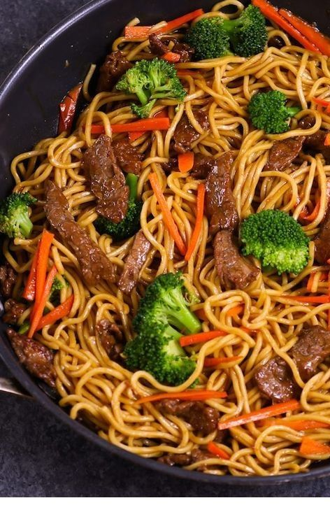 Photo of Sara Bell's Blog: Easy Beef Lo Mein Meal Prep