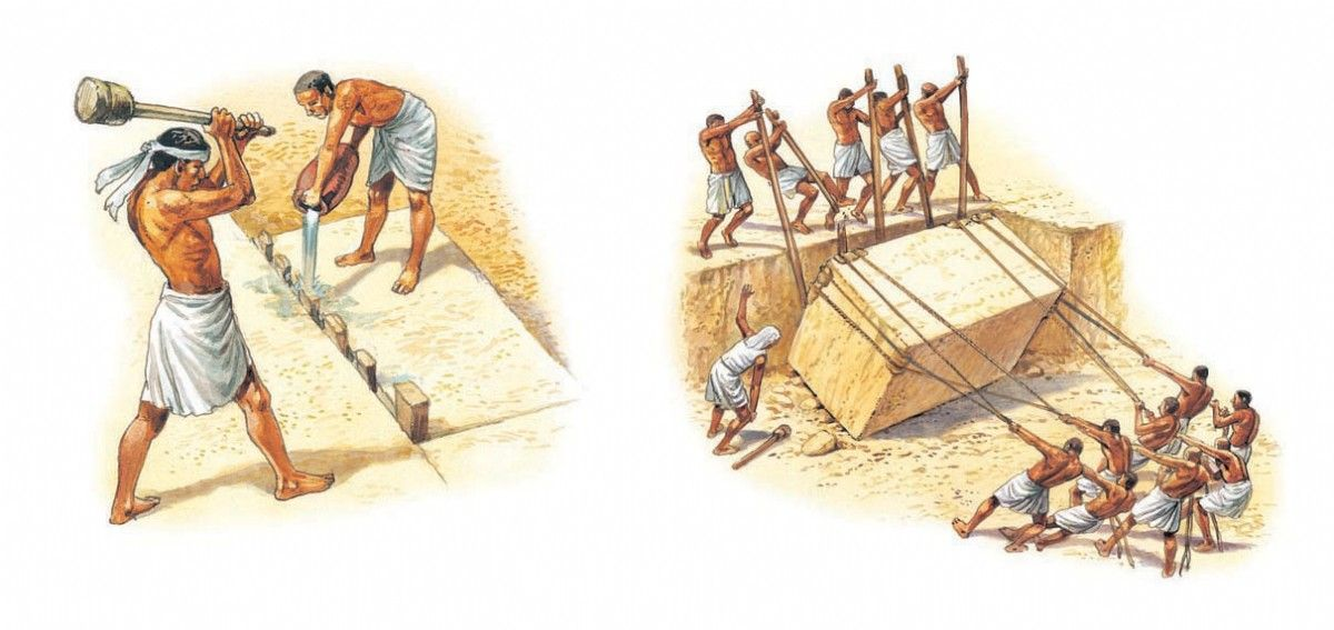 Great Pyramid tombs unearth 'proof' workers were not slaves