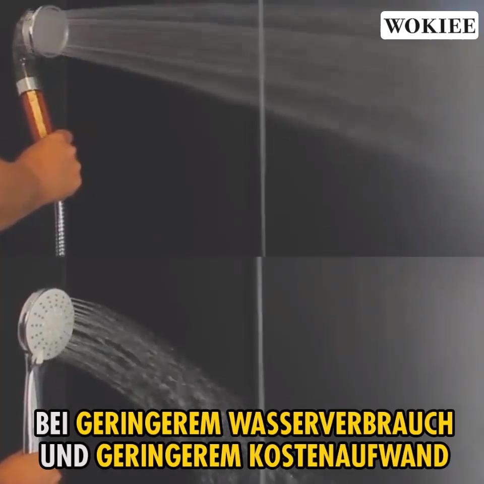 Wasserdruck Um 200 Erhoht Wasserverbrauch Um 35 Reduziert