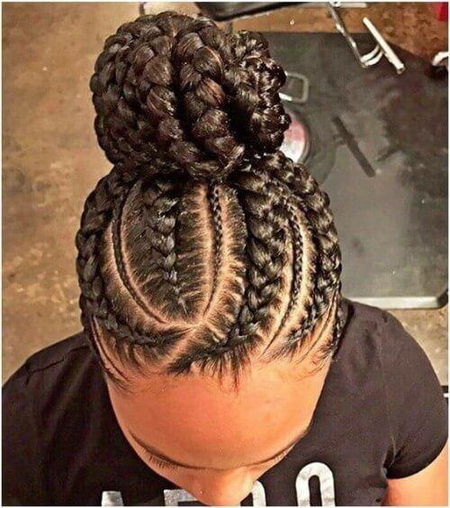 braids   braids # Braids africanas recogido # Braids africanas recogido